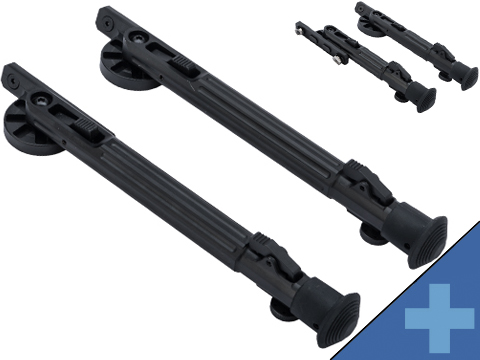 ARES Single-Legged Swivel Bipod for M-LOK Rail Systems