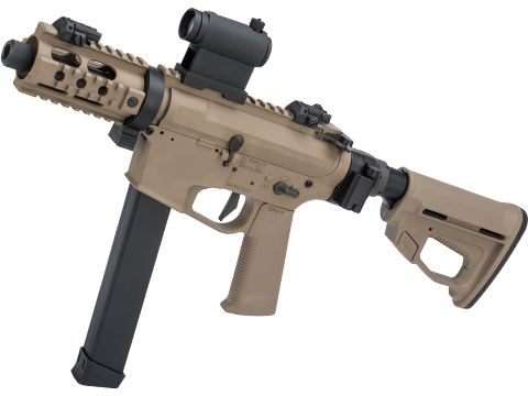 ARES M45X-S Airsoft AEG SMG with Folding Collapsible Stock (Color: Dark Earth)