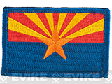 Evike.com Tactical Embroidered U.S. State Flag Patch (State: Arizona The Grand Canyon State)