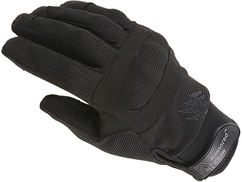 Armored Claw Shield Flex Tactical Glove (Color: Black / Large)