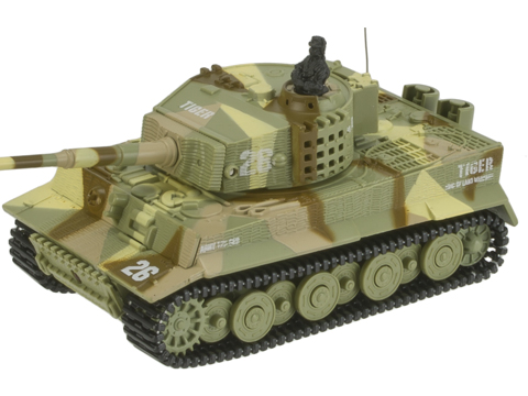 Armor Corps 1:72 Scale Remote Control RC Battle Tiger Tank (Color: Desert)