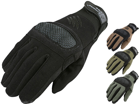 Armored Claw Shield Tactical Glove (Color: Black / Medium)