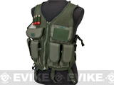 GxG High Speed Tactical Ranger Vest w/ Integrated Pouches