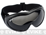 GxG Tactical Anti-Fog Safety-Rated Airsoft Goggles - Black