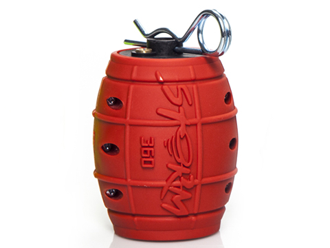 ASG Storm 360 Impact Gas Grenades (Color: Danger Red)
