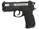 ASG CZ 75D Duty Non-Blowback Co2 4.5mm (.177 cal NOT AIRSOFT) BB Pistol - Two Tone