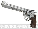 Dan Wesson CO2 Powered 4.5mm Airgun Revolver (Color: Silver / 8 / BB Gun)
