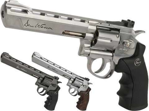 Dan Wesson CO2 Powered 4.5mm Airgun Revolver