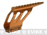 ASG CNC Machined Aluminum Rail Mount for ASG CZ SP-01 Airsoft Pistols - Orange
