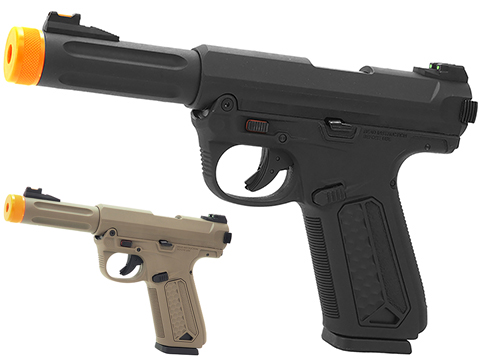 Action Army AAP-01 Assassin Airsoft Gas Blowback Pistol (Color: Black)