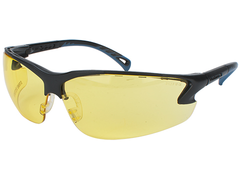 ASG Strike Systems Protective Airsoft Shooting Glasses (Color: Yellow Lenses)