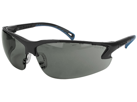 ASG Strike Systems Protective Airsoft Shooting Glasses (Color: Smoke Lenses)