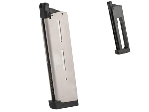 ASG 26 Round Magazine for STI Tac Master 1911 Gas Blowback Airsoft Pistols (Color: Silver / Gas)