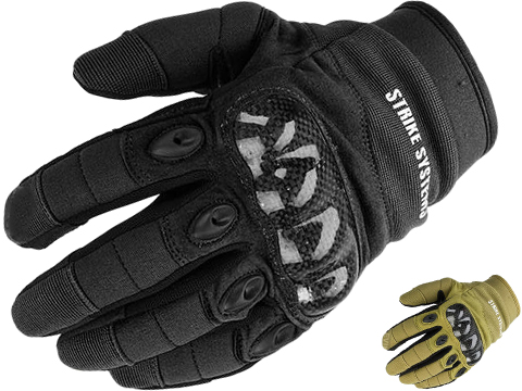 ASG STRIKE Systems Tactical Assault Gloves (Color: Black / Large)