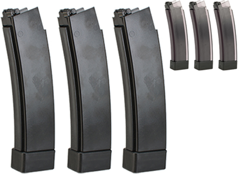 ASG 75rd Standard Magazine for CZ Scorpion EVO 3 A1 AEG (Color: Black / Box of 3)
