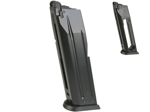 ASG 25 Round Magazine for ASG/KJW CZ-P09 Duty Gas Blowback Airsoft Pistol (Type: Green Gas)