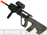 Evike.com Exclusive ASG Steyr Licensed AUG A3 Metal Gearbox Airsoft AEG Rifle - OD Green