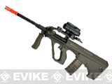Evike.com Exclusive ASG Steyr Licensed Metal Gearbox AUG A2 Airsoft AEG Rifle - OD Green