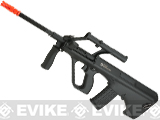 Evike.com Exclusive ASG Licensed Steyr AUG A1 Airsoft AEG Rifle w/ Military Style Scope (Color: Black)
