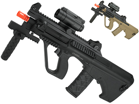 ASG Licensed Steyr AUG A3 XS Commando Airsoft AEG Rifle