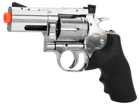 Dan Wesson 715 CO2 Powered Airsoft Revolver (Version: Low Power Version / Silver / 2.5)