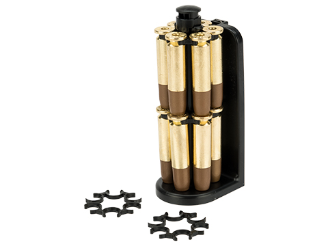 ASG Moon Clip Set with 12 Revolver Cartridges for Dan Wesson 715 4.5mm Airgun Revolvers with Loader Caddy