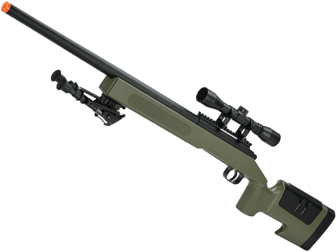 McMillan USMC M40A3 SportLine Airsoft Sniper Rifle by ASG (Color: OD Green Evike.com Exclusive)