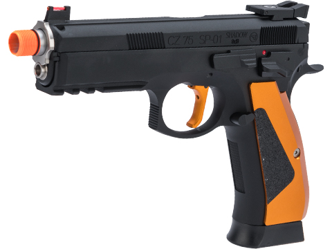 CZ75 SP-01 Shadow ACCU Special Edition Gas Blowback Airsoft Pistol by ASG