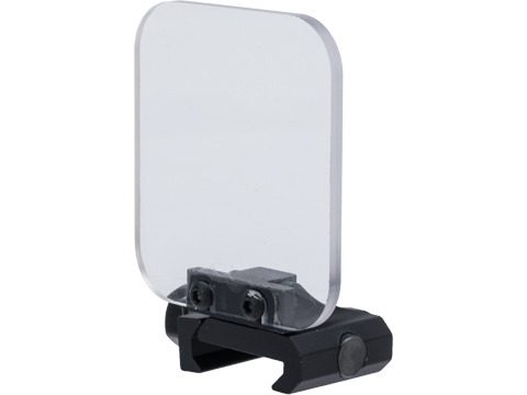 ASG Picatinny Mounted Flip Up Acrylic Lens Protector