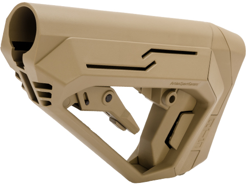 ASG Strike Systems Retractable ATS M-Stock (Color: Tan)