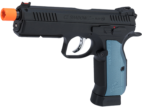 CZ Shadow 2 Gas Blowback Airsoft Pistol by ASG (Color: Black / CO2)