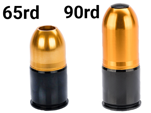 ASG Multi-Purpose 40mm Reusable Airsoft Gas Grenade Shell (Model: Small 65rd)