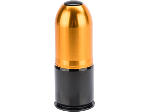 ASG Multi-Purpose 40mm Reusable Airsoft Gas Grenade Shell (Model: Large 90rd)