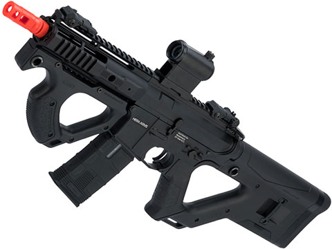 ASG Hera Arms Licensed CQR M4 Airsoft AEG by ICS (Model: Black w/ S3 Electronic Trigger)