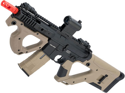 ASG Hera Arms Licensed CQR M4 Airsoft AEG by ICS (Model: Tan w/ S3 Electronic Trigger)