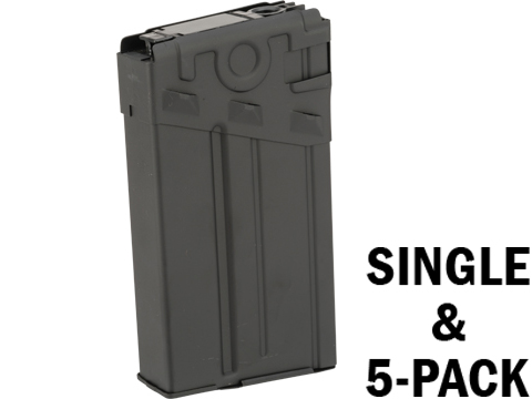 Matrix 500 Round Metal Hi-cap Magazine for G3 Series Airsoft AEG (Package: Single Magazine )