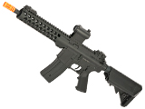 JG /Golden Eagle 6612 9 M4 Airsoft AEG with Modular Handguard and Retractable Stock (Package: Black - Gun Only)