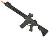 JG /Golden Eagle SPR 15 M4 Airsoft AEG Rilfe with Retractable Stock (Version: Modular Handguard)