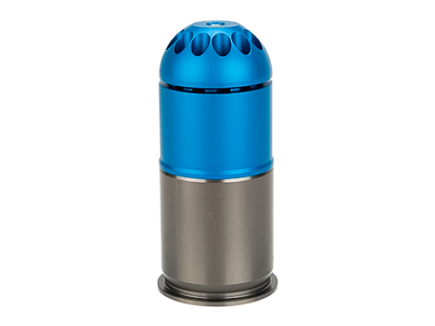 Matrix Aluminum Green Gas Powered Airsoft 40mm Grenade Shell (Capacity: 96 Rounds)