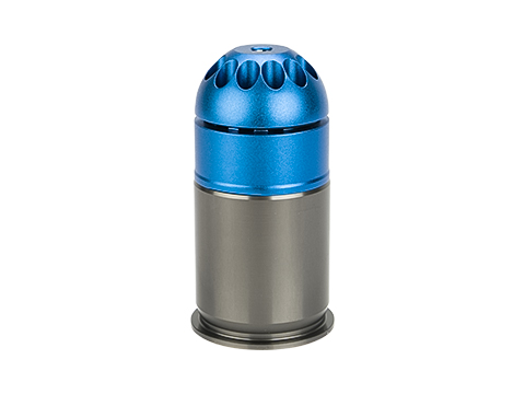 Matrix Aluminum Green Gas Powered Airsoft 40mm Grenade Shell (Capacity: 72 Rounds)