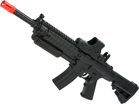 Pump Action Mini Airsoft M4 Rifle (Color: Black)