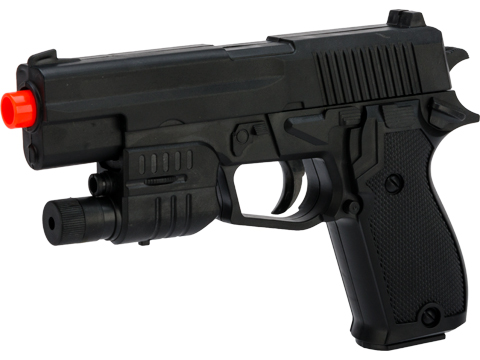 ASP Spring Powered Polymer 662 Tactical Airsoft Gun (Package: Pistol)