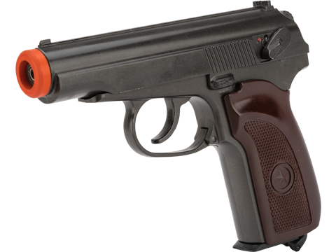 Matrix Co2 Powered Blowback Russian PM 4.5mm AirPistol