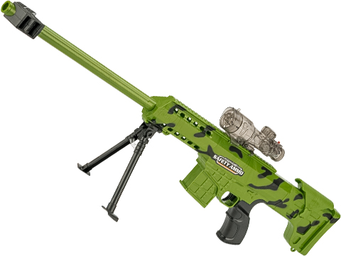 ASP SWAT Sniper Gel Ball Blaster Automatic Sniper Rifle (Color: Zombie Green)