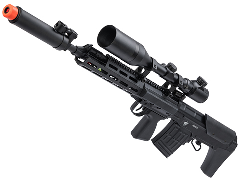 ASP TActical SVU Airsoft Bullpup Sniper Rifle AEG w/ M-LOK Handguard (Color: Black)