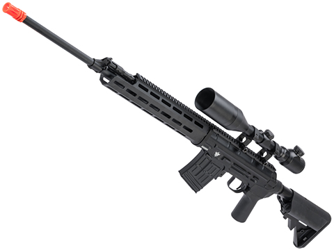 ASP Tactical SVD Dragunov Airsoft AEG Sniper Rifle w/ M-LOK Handguard (Color: Black)