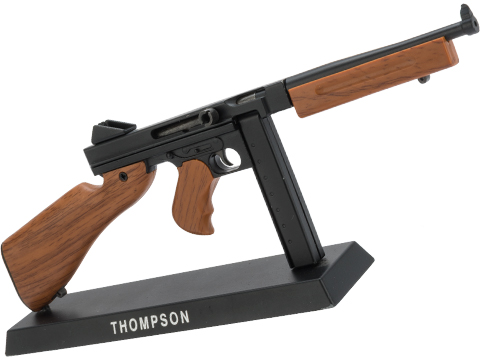 Die-Cast Metal 1:4 Scale Model Gun (Type: Thompson)