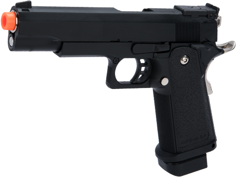 Matrix Hi-Capa Gas Blowback Airsoft Pistols (Type: 5.1 / Black)