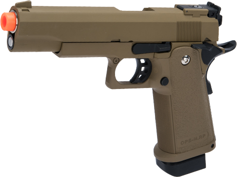 Matrix Hi-Capa Gas Blowback Airsoft Pistols (Type: 5.1 / Tan)