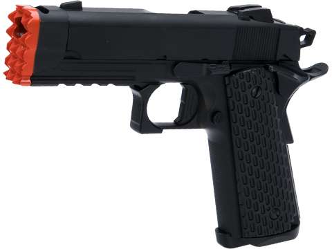 Matrix Tactical 1911 Gas Blowback Airsoft Pistol (Color: Black)